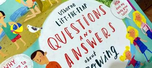 小孩的百科翻翻書大集合| Questions and Answers about Growing Up|長大的那些為什麼