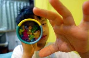 跳字問題- 慢速眼球追視動作加強●萬花筒建立孩子慣用眼●