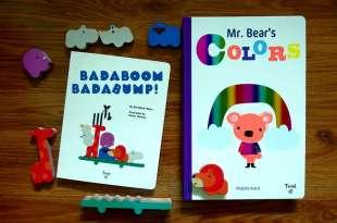 Badaboom Badabump!動物遊戲組 媽媽雜誌最佳童書得主Mr. Bear's Colors(這本激推)
