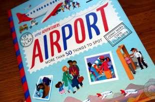 小孩的機場實境書|Little Adventurers Airport|超過50個翻翻小機關