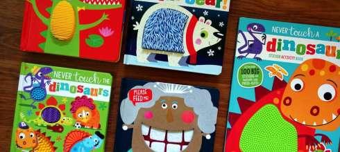 5本超吸眼球的怪怪觸覺書 La La Llamas!,每一本摸起來都怪怪的可愛