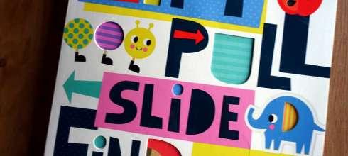 連媽媽都會喜歡的ABC操作書 Lift, Pull, Slide And Find Abc,每個機關都是驚喜
