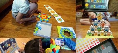 適合2-7歲以上 德國Haba益智萬花筒積木, 磁鐵遊戲學習盒及迷你怪獸疊疊樂合作桌遊 