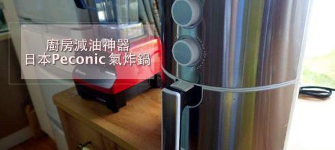 做飯超省時 日本Peconic超美不鏽鋼氣炸鍋,減油更健康,大容量才好用
