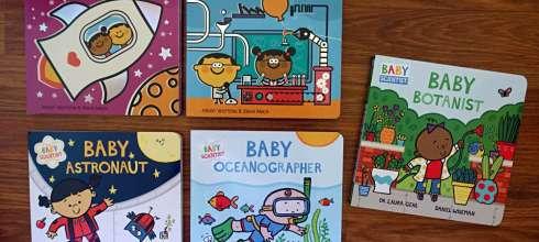 國外媽媽狂推的科學硬頁書 當孩子開始問為什麼?I Love Science 和 Baby Scientist