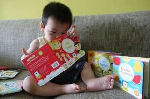 美國Banana Panda 小小探索家圖書館|硬紙拉頁書很對小孩味|還有學習閃卡和扣環書