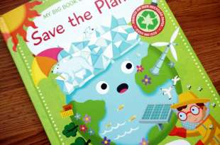 地球告急|Save the Planet和Planet Earth百科翻翻硬頁科普書