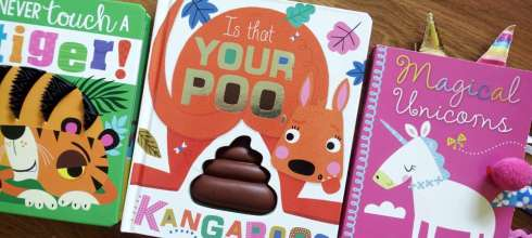 孩子喜歡的奇特觸摸硬頁書|Is That your Poo Kangaroo? 還有Never Touch a Tiger