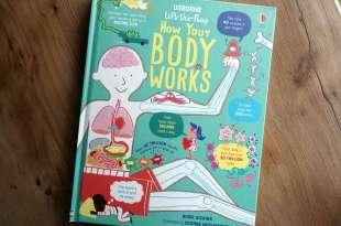 值得入手的五顆星科普翻翻書|Lift the Flap How Your Body Works|