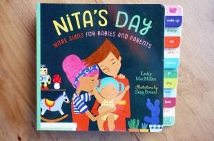 新手父母的親子共讀4本書單|Nita's Day|寶寶也懂的手語硬頁書
