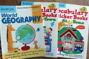 Kumon功文教育 貼紙遊戲書:世界地理與Vocabulary大尺寸貼紙書