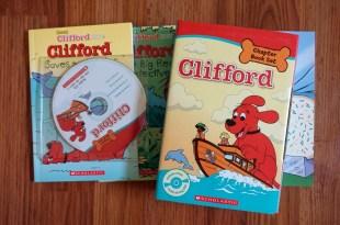陪同大爺長大的童書|新書分享:Clifford Chapter Book Set