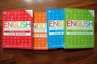 兒童自學教材書練習本|English for Everyone Practice book|有免費線上音檔