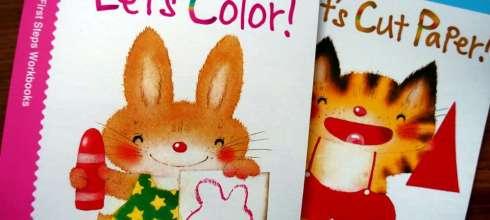 2歲以上適合|Kumon功文|小手美勞遊戲書:著色,貼紙,剪貼,摺紙|建立手部精細動作