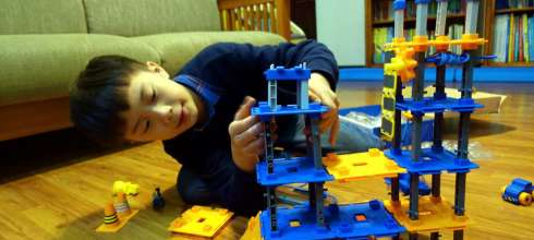 5歲以上適合的STEM遊戲|美國Learning Resources城市建築師|批判性思考與問題解決