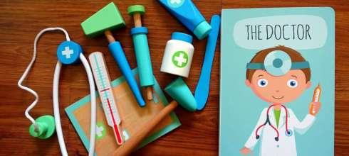 親子共讀再出招|Sassi The Doctor 角色扮演醫生遊戲書盒|反射錘玩到停不下來