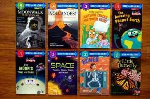 引導孩子閱讀英文的五階段讀本分享 Step into Reading 