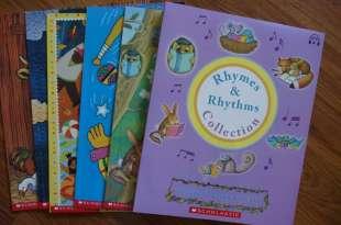 0歲以上建立英文耳|Rhymes and Rhythms 自然發音童謠CD書