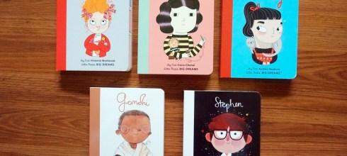給孩子不同的共讀選擇|Little People Big Dreams硬頁書