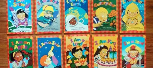 初階英文有聲CD橋樑書 I Am Series Box Set  科學主題讀本