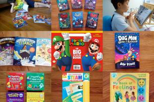 7月書團|瑪力歐遊戲書單, 各年齡讀本,Evan-Moor分級教材, 硬頁書