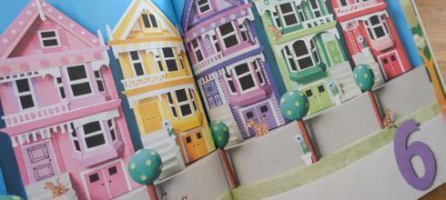 請不要錯過的極美找找書●Little Houses A Counting Book●還有阿Q版動物翻頁書