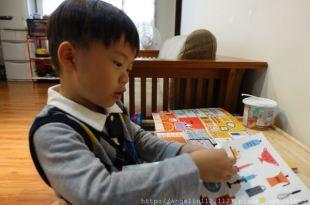 讓孩子又安靜又忙碌的書●Sticker Style HOUSE貼紙翻翻書●認識家的好方式