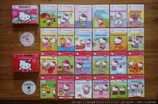 [親子共讀] 適合小小孩的自然發音CD書 ●Hello Kitty Phonics ●