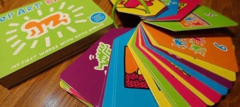 親子共讀:硬頁書及閃卡●Keith Haring Pop Art Baby! ●凱斯哈林的普普藝術