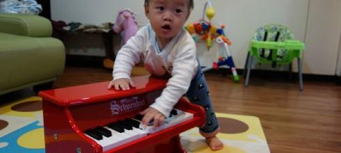 想好久的周歲禮-140年歷史的美國Schoenhut玩具鋼琴