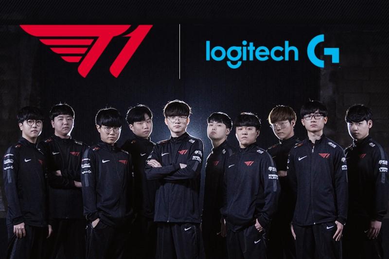 Logitech G 宣布成為韓國T1職業電競戰隊 T1 官方贊助商