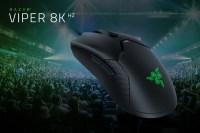 雷蛇 HyperPolling 推出 8000Hz 的 Razer Viper 8KHz 滑鼠,另外 Razer Naga X 回歸市場