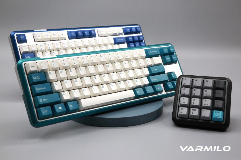 阿米洛推出 Varmilo Sword 2 CNC全金屬鍵盤,4種尺寸搭配磁吸式上蓋動手DIY更好看
