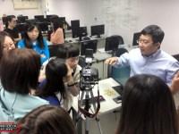 108年度新北職訓:網路行銷與數據分析班「商品攝影與數位編修」花絮記錄