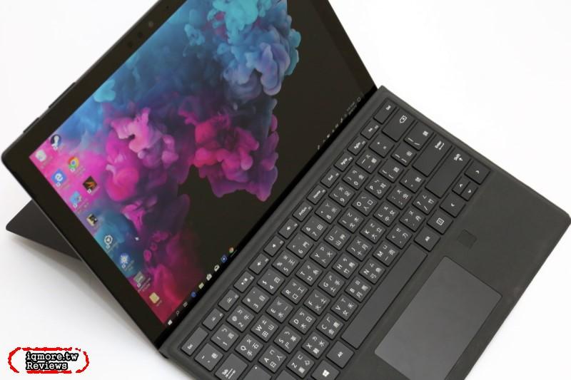 全台首測!微軟 Microsoft Surface Pro 6 評測,石墨黑質感更加分