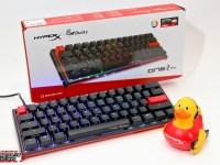 全新設計60%搭載HyperX軸,HyperX x Ducky One 2 Mini 聯名鍵盤拆解評測