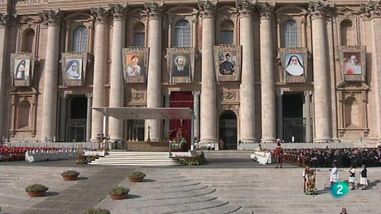 El día del Señor - Ceremonia de canonización 1