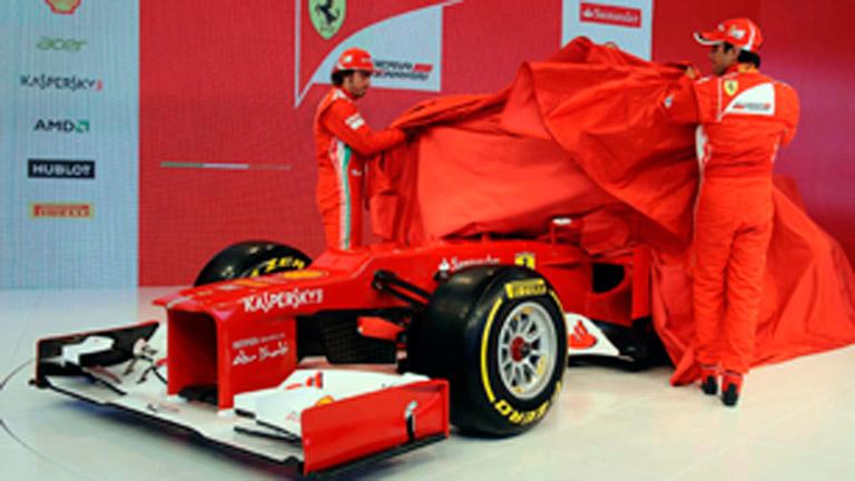 Presentación del Ferrari F2012