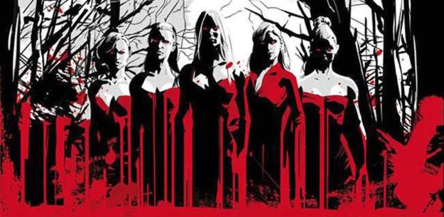 Fragmento de la portada de 'Las brujas de Westwood'