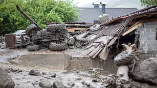 Ver vídeo  'Las fuertes lluvias en Centroeuropa causan al menos un muerto'