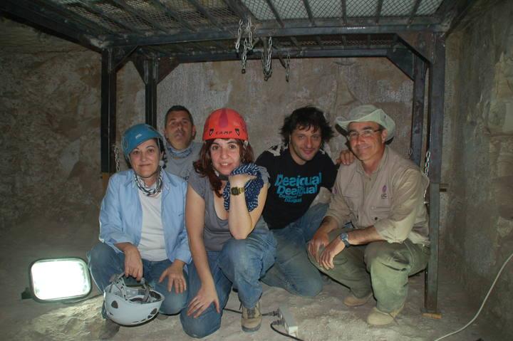 El equipo del programa con José Manuel Galán