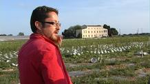 El geógrafo Jaume Sans ha inventariado el patrimonio cultural del Parc Agrari