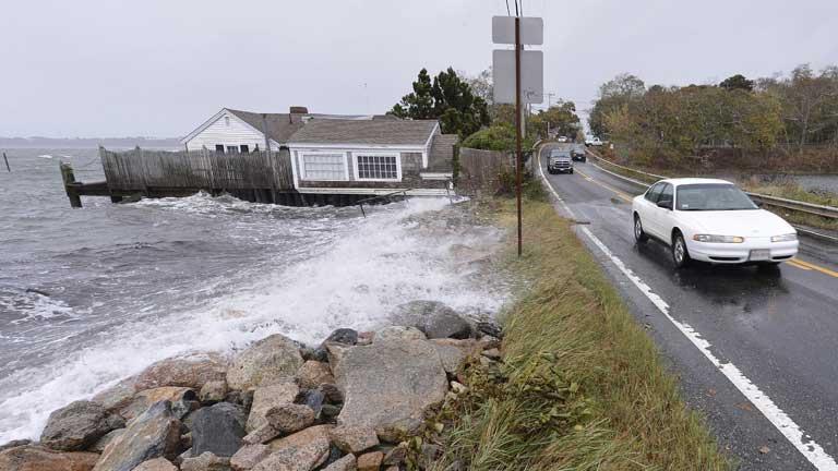 La tormenta Sandy deja su rastro en varias ciudades de la costa este