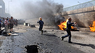 Ver vídeo  'Varios muertos y más de medio centenar de heridos en una serie de atentados en Irak'