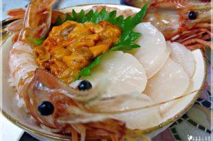 北海道小樽必吃朝市♫北海道必吃的早點_三色丼_ほっけ