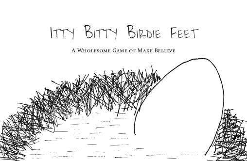 Itty Bitty Birdie Feet