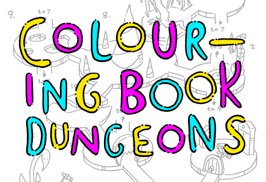Colouring Book Dungeons