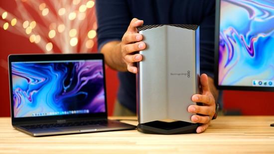 [圖]2018款MacBook Pro外接顯示卡Blackmagic eGPU開箱上手 - ITW01