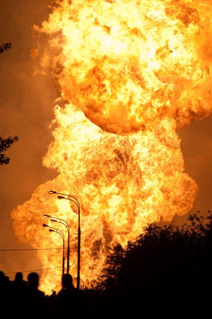 Huge gas explosion in Moscow 29 photos1 video
