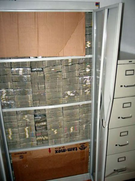 Drug Money. $205 million in cash!